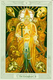 Hierophant Tarot Card